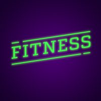 Fitness Neon Light