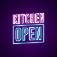 Kitchen Open Neon Light
