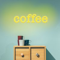 Coffee Neon Light