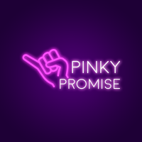 Pinky Promise Neon Light