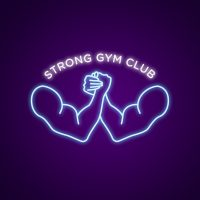 Strong Gym Club Neon Light