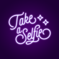 Take A Selfie Neon Light
