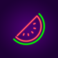 Watermelon Neon Light
