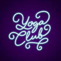 Yoga Club Neon Light