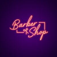Barber and Shop Neon Light