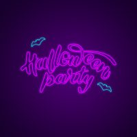 Halloween Party Neon Light