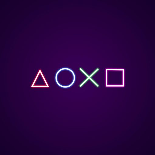 Playstation Neon Light