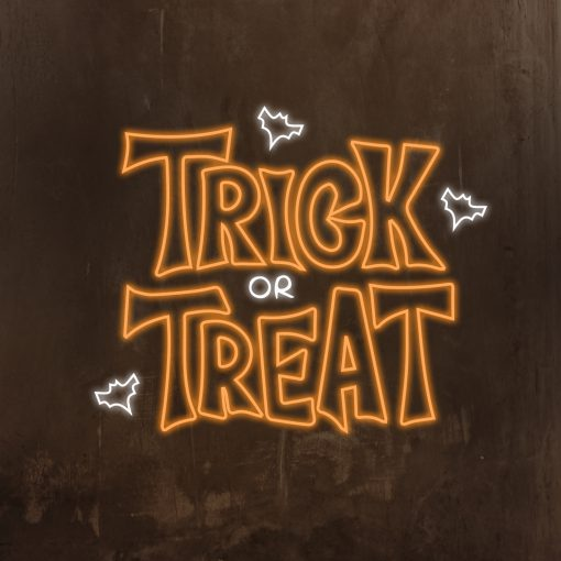 Trick or Treat Neon Sign