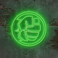Hero Fist Neon Light