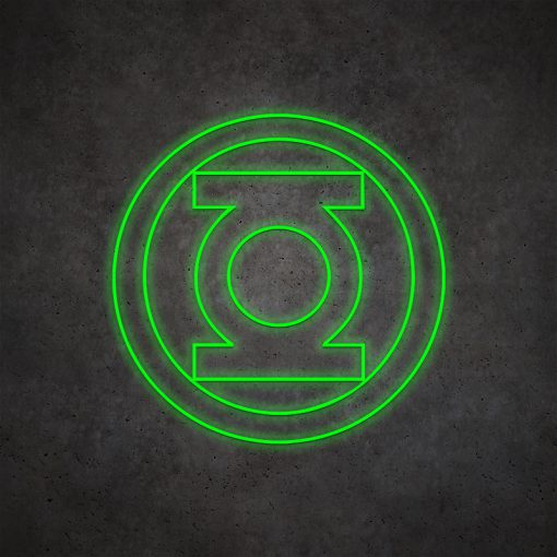 Green Lantern Neon Light