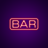 Colored Bar Neon Signs