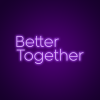 Better Together Lighted Neon Signs