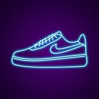 Air Force One Neon Sign