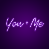 You + Me Neon Signs