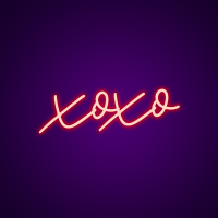 XOXO Neon Light Signs